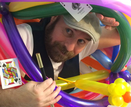 Jeffrey Davis-Kids Entertainer Contributor shares his story of getting into children's entertaining